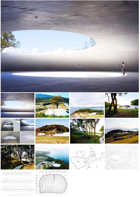 丰岛美术馆建筑设计